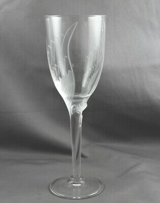 Lalique Crystal Ange Angel Champagne Flute Sold Individually