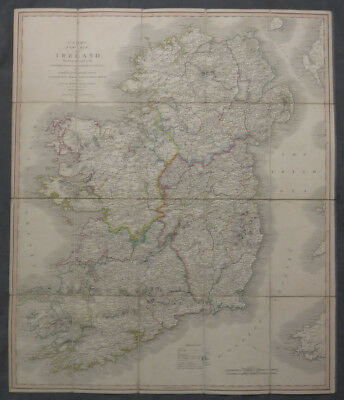 G. / Cary's Travelling Map of Ireland exhibiting the Whole of the Post Roads
