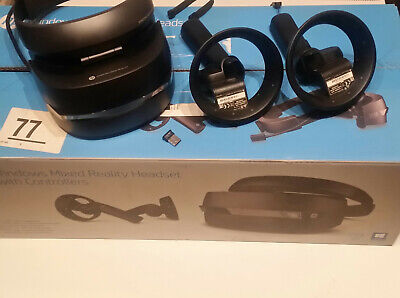 HP Windows Mixed Reality VR-Brille + Controller + USB-Bluetooth Adapter + OVP!