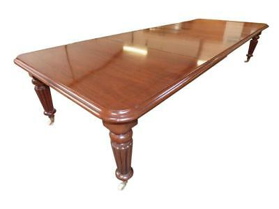19th Victorian Mahogany Extending Dining Table