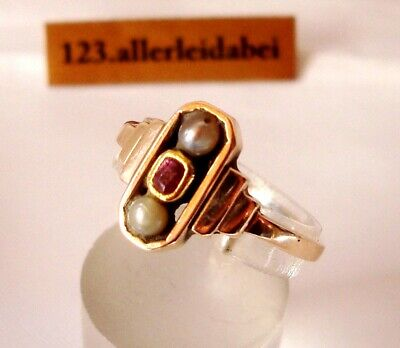 alter Art Deco Ring 333 Gold Goldring / BR 144
