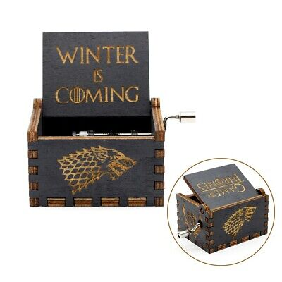 Game of Thrones engraved handmade wooden music box ♫♫♫ GoT music theme