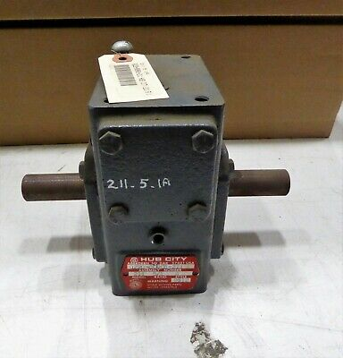 Hub City Model 211 Reducer 0220-80901  5:1 Ratio