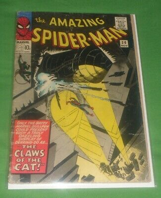 Amazing_ Spiderman_Nov 65 30# The Claws Of The Cat At A 4.5 Priced As Condition