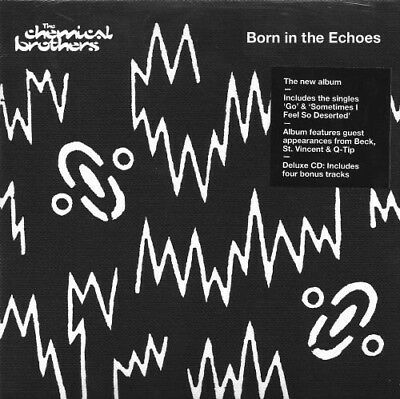 New / Sealed - The Chemical Brothers - Born in the Echoes Deluxe Edition CD