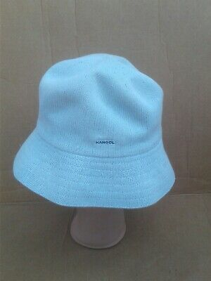 745bf3583c527 Kangol Luxury Cotton Crusher Bucket Hat Baby Blue Size Regular Women s GUC