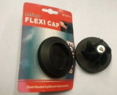 2 X Universal Emergency Fuel Cap Petrol Diesel Replacement Fuel Cap Brand New