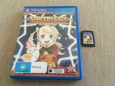 Sorcery Saga: The Curse of the Great Curry God (PlayStation Vita, 2014) AUS PAL
