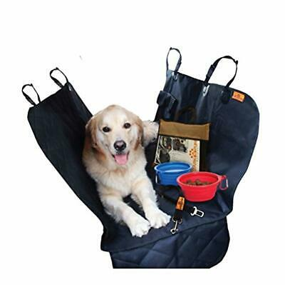 Dog car Seat Protector Cover for Cars SUV's and Small Trucks – Anti-Slip Rea