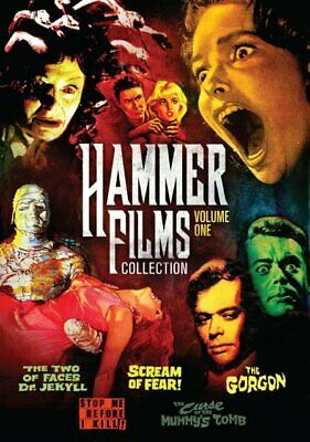 Hammer Horror Films Collection: Volume 1   5 Movies   Christopher Lee   New DVD