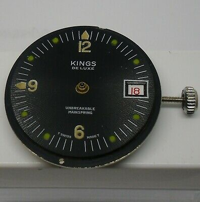 Kings Dive Dial & Movement Working Project Reloj Buceo Kings Funciona Proyecto