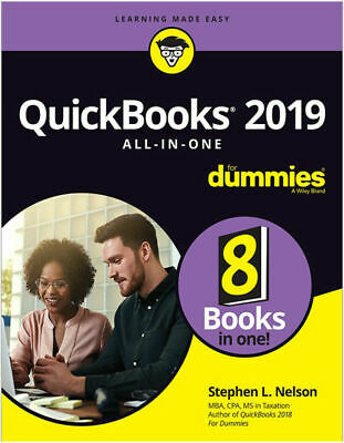 QuickBooks 2019 All-In-One For Dummies - EB00K PDF HD