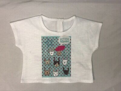 American Girl Doll Better Together Kitty Cat T Shirt Truly Me
