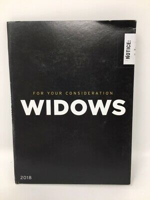 """""""Widows"""" (For Your Consideration DVD Screener)"""