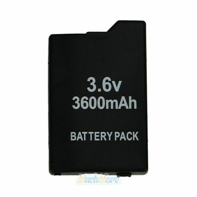 3600mAh 3.6V Li-ion Rechargeable Battery Pack for Sony PSP 2000 2001 2002 Series