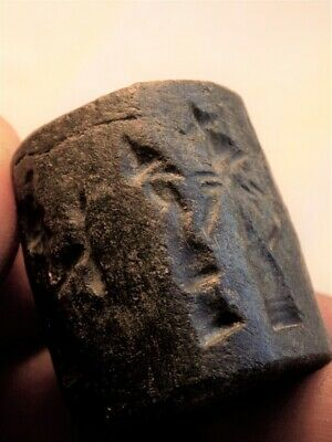 Ancient Canaanite  Stone Cylinder Seal