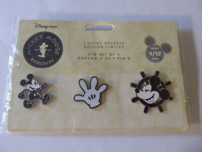 Disney Trading Broches 126727 Ds - Mickey Mouse Souvenirs - January - Ensemble