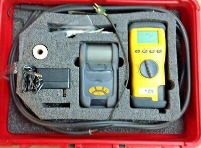UEI EAGLE 1 C75 Combustion Analyzer w/ Case, and Lots of Accessories