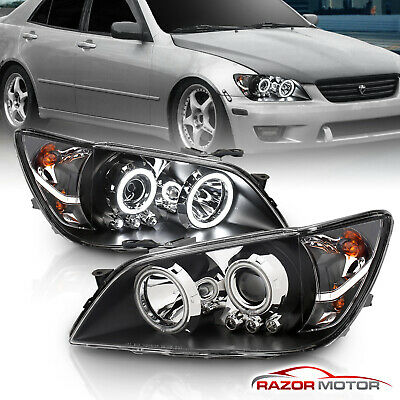[CCFL Halo]For 2001 2002 2003 2004 2005 Lexus IS300 Projector LED Headlights