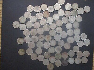 Lot of 80 Mixed Date Liberty Head Nickels Coin Lot, Culls, AG & Good,