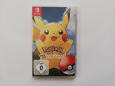 Pokemon - Let's Go, Pikachu! - Nintendo Switch Spiel NEU + OVP
