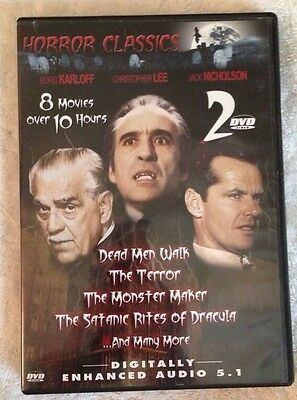 Horror Classics (Previously Viewed DVD, 2005, 2-Disc Set)
