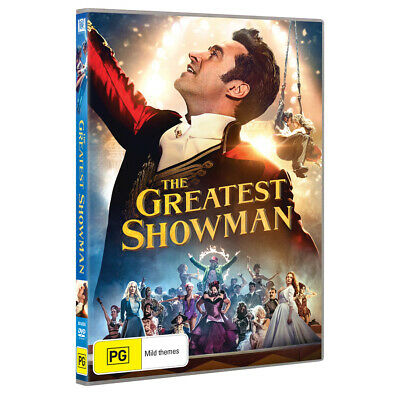 NEW The Greatest Showman (2017) DVD