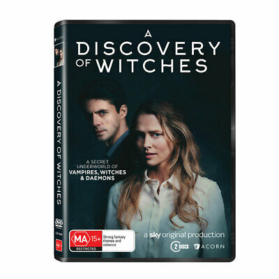 NEW A Discovery of Witches (2018) DVD