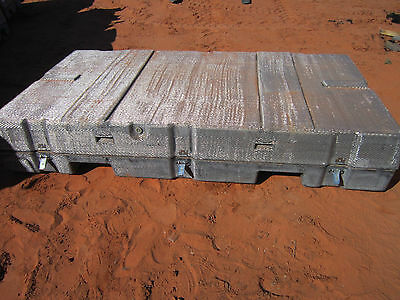 "Lifetime Expandable Storage Container 96""x52""x16"" With Wheels Price Reduced!"
