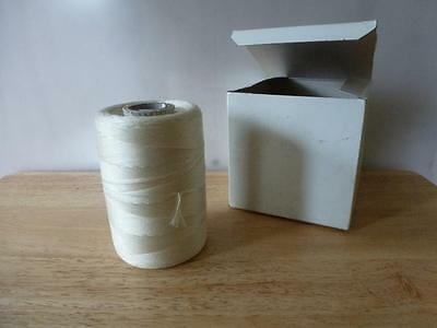 1350' TWINE FIBROUS Lacing and Tying ROPE CORD STRING Type N Waxed Class 2 b6T
