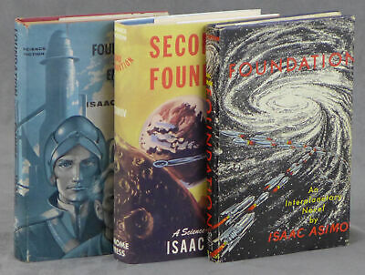 Isaac Asimov / Foundation Trilogy Foundation Foundation and Empire Second 1953