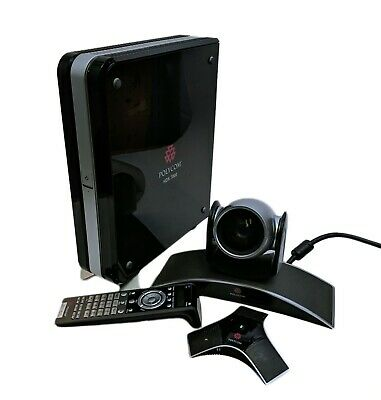 Polycom HDX 7000 HD PAL Video Conferencing System 2201-26773-002 + Camera Mic