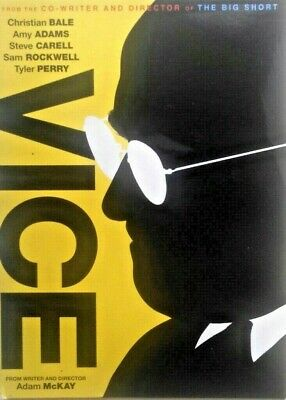 For Your Consideration [FYC] - VICE (DVD,2018) Christian Bale