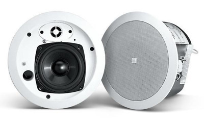 "JBL Control 24C Micro White 4"" 2-way Micro Ceiling Speaker (Pair)"
