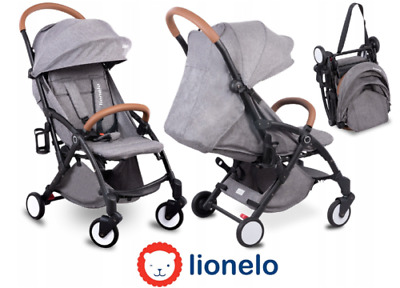 Lionelo Julie Travel Lightweight Pram Buggy Pushchair Stroller Baby Toddler