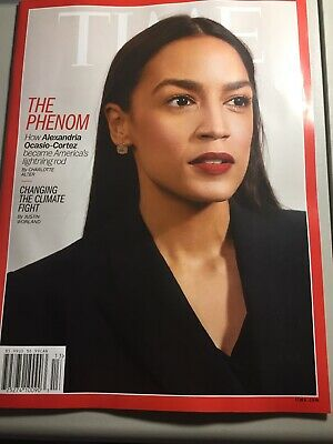Time Magazine   April 1 2019 Alexandria Ocasio-Cortez   AOC