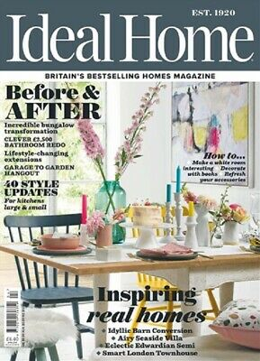 Ideal Home Magazine April 2019 ~ New ~ Lll