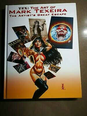 Tex The Art of Mark Texeira HC 1st editione 2009 Vanguard Production