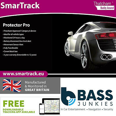 Smartrack Protector Pro Insurance Approved Cat 6 GPS Car Vehicle Tracking Device