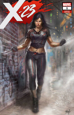 X-23 #1 Lucio Parrillo Trade Dress Variant Cover Marvel 1st Print New Unread NM
