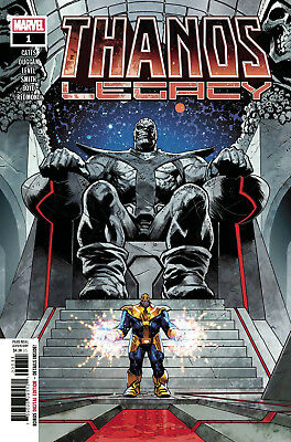 THANOS LEGACY #1 Donny Cates Marvel 1st Print NM New Unread Bagged & Boarded