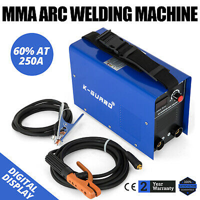 250 Amp Inverter Welder- MMA/ARC Portable Welding Machine - 60% Duty Cycle