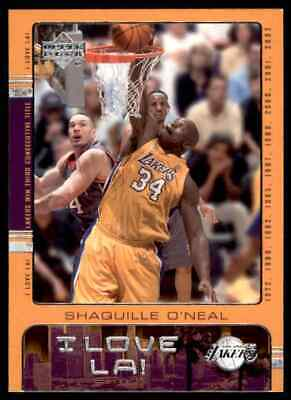 493b495dea1 2002-03 Ud I Love La Shaquille O neal Los Angeles Lakers  34