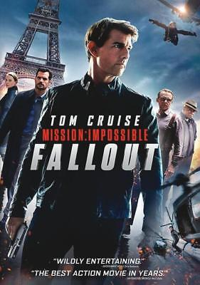 Mission: Impossible - Fallout (DVD) 2018  Tom Cruise