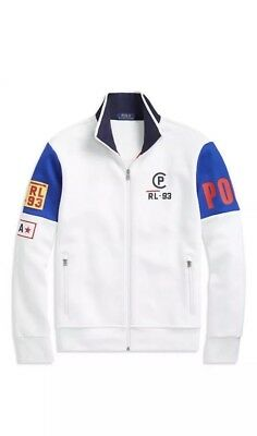 ab6bbb15 POLO RALPH LAUREN Limited Edition CP 93 Double-knit White Track ...