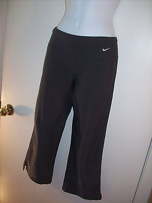 d29986b57f3af Womens Nike workout athletic pants Yoga Cropped Capri spandex Extra Small XS