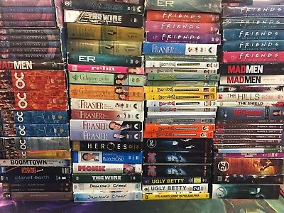 Gigantic Movie Collection, DVD Lot - AUTHENTIC DVDS, Box Sets Complete Seasons