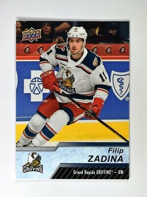 2018-19 18-19 UD Upper Deck AHL Base Short Print #119 Filip Zadina SP