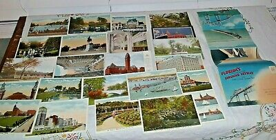 Vintage Postcards-Chicago,Ill and Florida's Tampa Bay