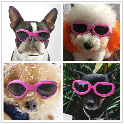 Small Dog Sunglasses UV Protection Eyewear Dogs Goggles for XS S M L Pets Yorkie